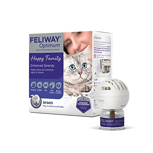Feliway Optimum - Anti-Stress pour Chat - Kit Complet