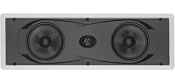 Yamaha In-Wall 150 watts Natural Sound 2-Way Speaker with 1  Titanium Dome Swivel Tweeter & Dual 6-1/2  Kevlar Cone Woofers for Enhanced Center Channel Plasma LCD Big Screen TV or any Home Theater System