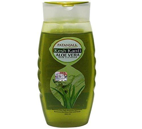 Patanjali Kesh Kanti Aloe vera Shampoo, Pack of 2