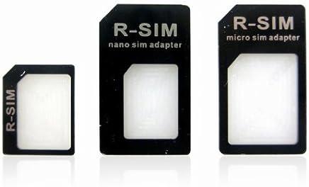 Nano adaptateur de cartes SIM Noir ou Blanc