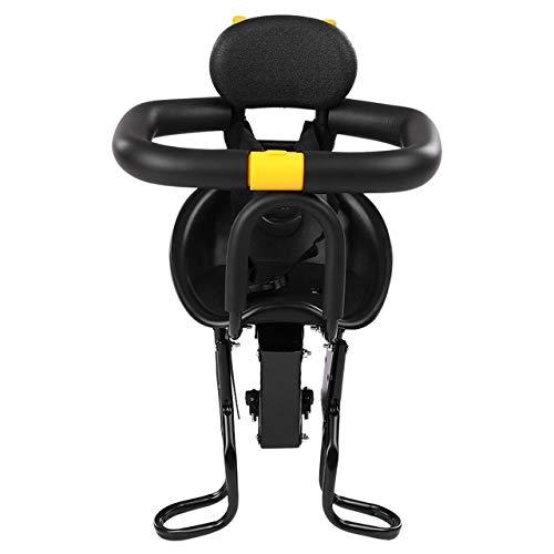 Lowest Price! QFDYEQF128 Safety Child Children Bicycle Seat Bike Front Baby Seat Kids Saddle FIYRPKO...