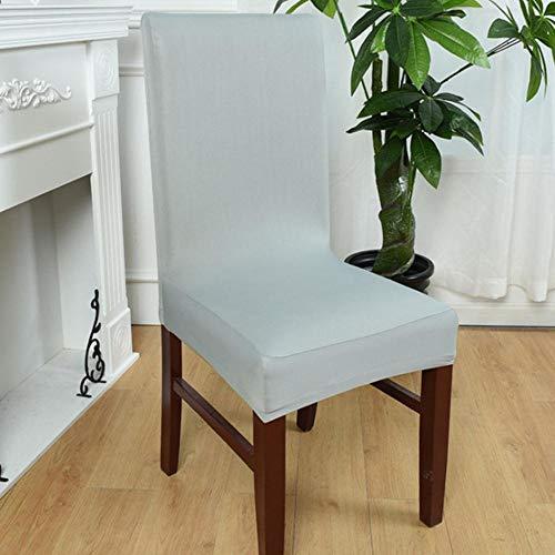 Hot Sale Bureaustoelbekleding Spandex Computerstoel Armleuninghoes Bloem Gedrukt Afneembare roterende stretchstoelbekleding, zilvergrijze kleur, met armste hoes