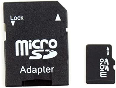 Eachbid High Speed Memory TF Card 1GB with SD Adapter