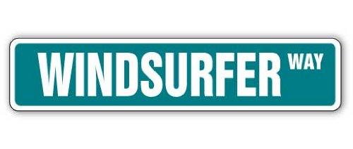 WINDSURFER Street Sign windsurfen wind surfen gift liefhebber zeil surfplank zee 4