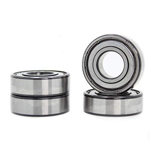 6202ZZ 15 x 35 x 11 mm Double Metal blindado, Torno prelubricado ABEC-7 Deep Groove Rodamientos (Pack de 4)