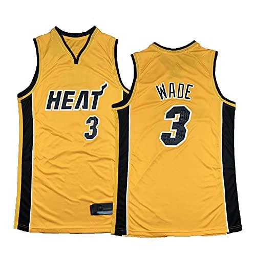 FGRGH # 3 Dwyáńe Wádè Red Jersey, Hèāt Mens Fans City Edition Basketball Swingman Jerseys, Chaleco Sin Mangas Tops Camisetas Sudaderas 7-S