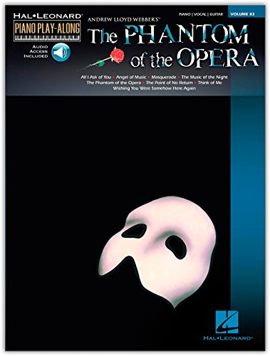 The Phantom of the Opera Piano Play-Along, Vol. 83 (Book & CD)
