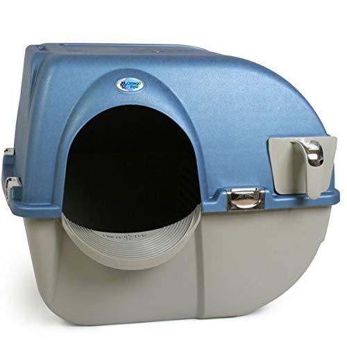 Omega Paw Premium Roll 'n Clean Self Cleaning Cat Litter Box, PR-RA20-1, Large