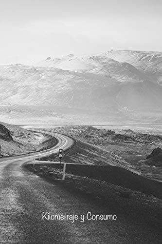 Kilometraje y Consumo: Bitácora para el seguimiento de las lecturas del odómetro de su vehículo personal o de negocios, niveles y compras de ... y consumos: 1 (Portada Camino Blanco y Negro)