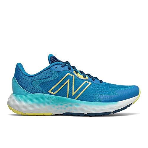 New Balance MEVOZV1 Zapatillas para Correr, Azul (Blue/Yellow), 42 2/3 EU