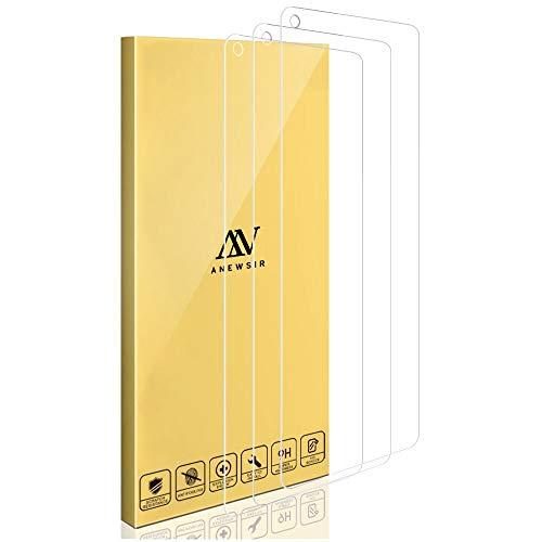 ANEWSIR 3X Pellicola Protettiva per Samsung Galaxy A21s Vetro Temperato,【Facile da Pulire Installazione】【Resistenza ai Graffi】 Trasparente Vetro Temperato per Samsung Galaxy A21s