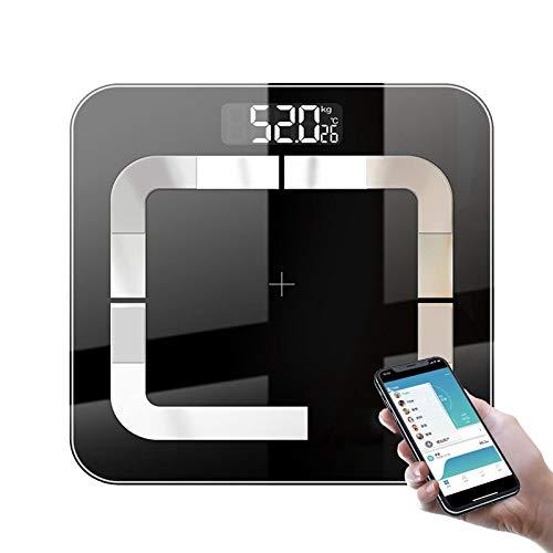 Ai-lir diseño de Moda Voguish Cuerpo Escala de Peso Digital Baño Cuerpo MI Scale Bluetooth Peso Humano BMI Balanzas de pesaje Balance de Piso Digital Inteligente inalámbrico