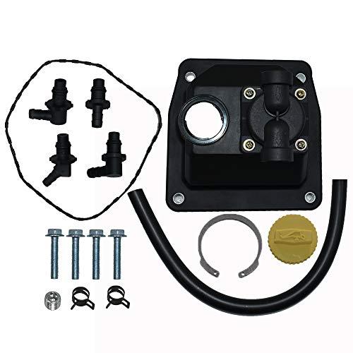 Autu Parts 2455910-S Fuel Pump Kit for Kohler CH18 CH18S CH19 CH20 CH22S CH22 CH23 CH25 CH640 CH670 CH730 CH740 Replace 24 559 08-S 24-559-02-S 24-559-03-S 24-559-05-S