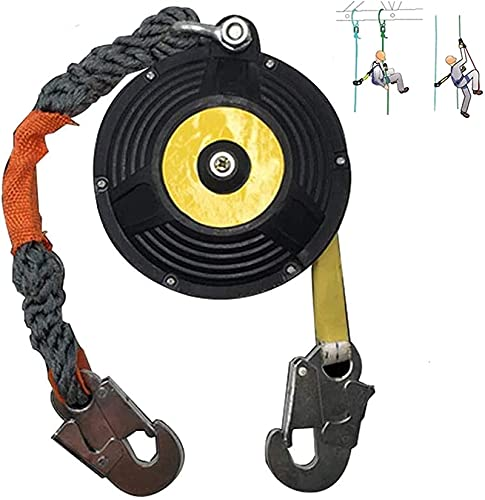 アンチドロップロープキット、自己引込みライフラインケーブル、逮捕保護台数、鉄筋フック付き安全産業用機器、より良い保護個人安全性// 84 (Color : 3m)
