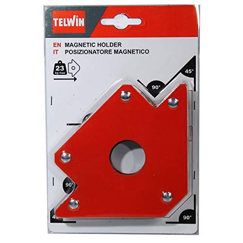 Telwin 802583 Posizionatore Magnetico per Saldature, 0.1 V, Rosso