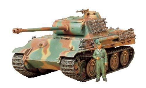 タミヤ 1/35 ミリタリーミニチュアシリーズ No.174 ドイツ陸軍 戦車 パンサーG スチールホイール仕様 プラモデル 35174