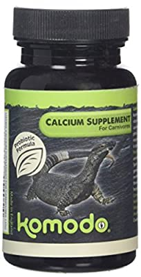 Komodo Calcium Supplement for Carnivores 135 g (Pack of 2) from Happy Pet