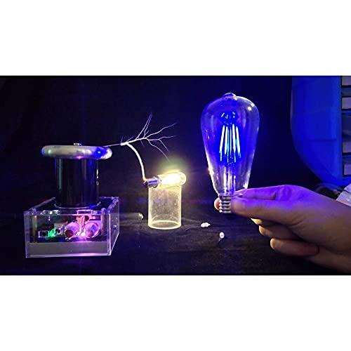 FHISD Festival de música Bobina de música Equipo de Experimento de Ciencia física Juguetes Bobina de música, iluminación Artificial, Herramientas de Ciencia y educación, Experimento de Bricolaje