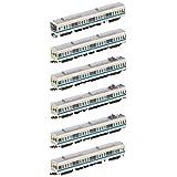 グリーンマックス Nゲージ 小田急8000形 車体更新車 ・ 8255編成 6両編成セット 動力付き 50637 鉄道模型 電車