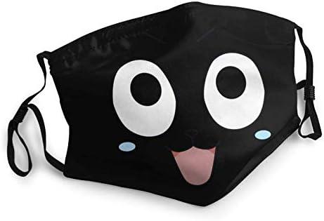 Reusable Cobra Kai Hello Kitty Star Trek Face scarf movies face Mask washable with Elastic Ear product image