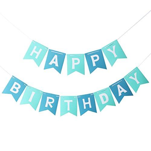 PIXNOR Happy Birthday Banner Party Dekorationen