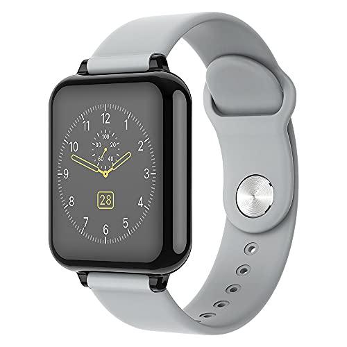 DADAS Smart Watch 1.3 Pulgadas Pantalla táctil Watch Smart Watch Monitor de frecuencia cardíaca, IP67 Pedómetro Impermeable Actividad Tracker Sleep Monitor,Gris