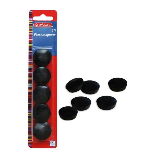 Magnete, Flachmagnete, farbig sortiert, 10 Stk. - Whiteboardmagnete Tafelmagnete
