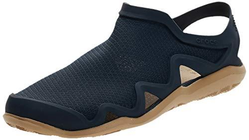 Crocs Men's Swiftwater Mesh Wave Closed Toe Sandals