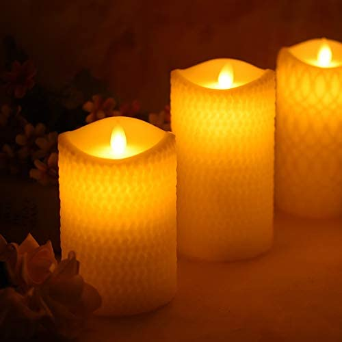 HSJWOSA Convincingly Lovely led Candle Wax by Recommendation Powe Paraffin Made Price reduction
