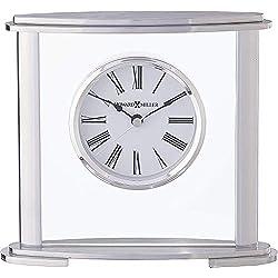 Howard Miller Glenmont Table Clock 645-774 – Modern Glass with Quartz Movement