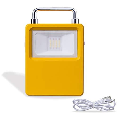 LED Außenlaternen Campinglampe,Auting Tragbar Solar USB Außenbeleuchtung Außenlaternen Wiederaufladbar 6000mAh Batteriebetrieben 4 Helligkeiten Dimmbar Notfallleuchte