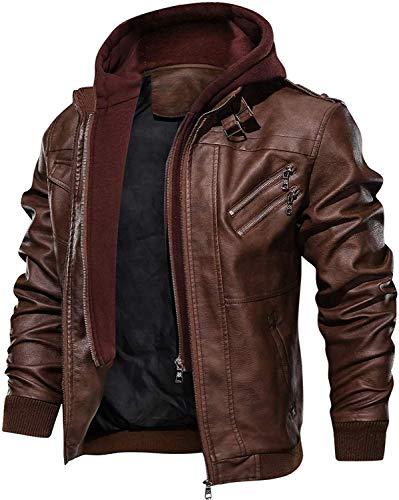 VIP Apparel Men Fashion Genuine Leather Jacket Coat Winter...
