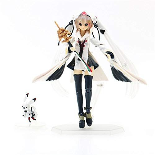 Aoolomy Action Figure Model Collection Red-Crowned Crane Miko, Action Figures 15Cm For Kids Teens And Anime-Fans