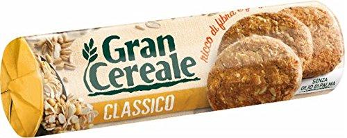 Gran Cereale Biscotti Gran Cereale Classico, Ricchi di Fibra e Fosforo - 250 gr