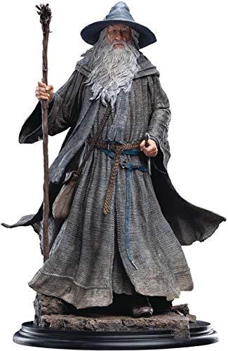 Weta Collectibles Figure Estatua de El Señor de los Anillos 1/6 Gandalf el peregrino Gris (Serie clásica) 36 cm, Unisex, Multicolor, 24 x 36 x 24 cm