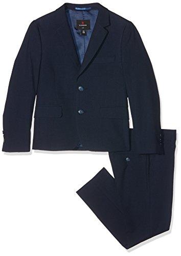 Lemmi Jungen Slim line MID Anzug, Blau (Total Eclipse 3000), 140