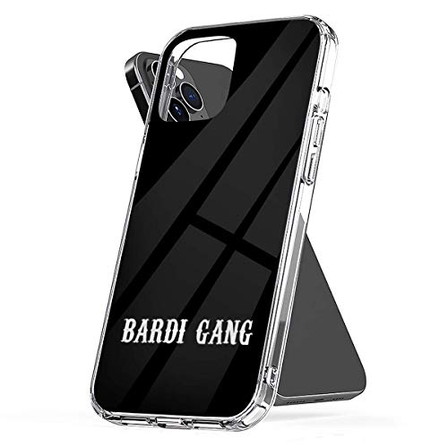 Phone Case Bardi Gang Cardi B Stickers Compatible with iPhone 6 6s 7 8 X XS XR 11 Pro Max SE 2020 Samsung Galaxy Shockproof Charm Funny