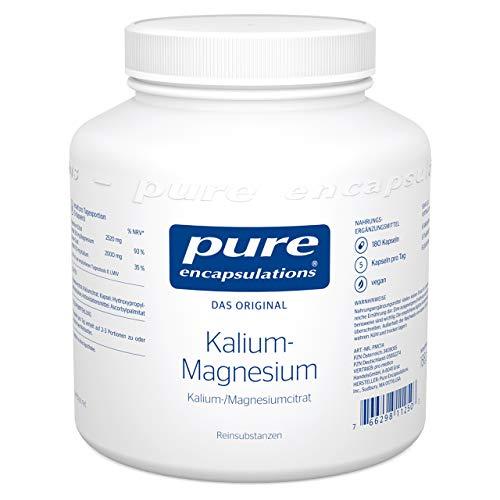 Pure Encapsulations - Kalium-Magnesium (Citrat) - organisch gebundenes Magnesium mit Kalium in Kombination - 180 vegane Kapseln