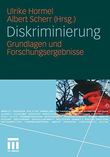 Diskriminierung: Grundlagen und Forschungsergebnisse (German Edition)