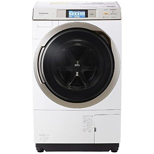 パナソニック 11.0kg ドラム式洗濯乾燥機【左開き】クリスタルホワイトPanasonic エコナビ ナノイー 即効泡...