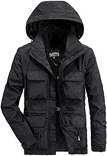 Bomber Jacket Fashion Men's Autumn Winter Casual Breathable Jacket Coat Faux Leather Jacket