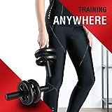 Immagine 2 ultrasport trainer ab wheel roller