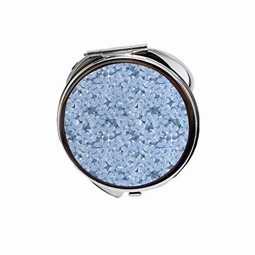 Espejo de maquillaje compacto para bolsos y viajes plegable mini espejo de bolsillo para niñas y…
