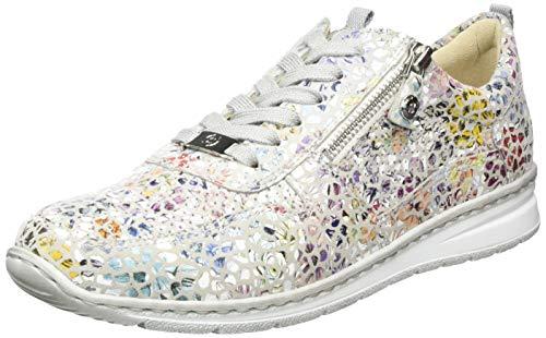 Salamander Damen Sapporo Sneaker, Grau (Sasso 95), 37.5 EU