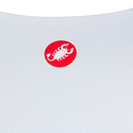 Castelli Rosso Corsa Light Bra White Size L