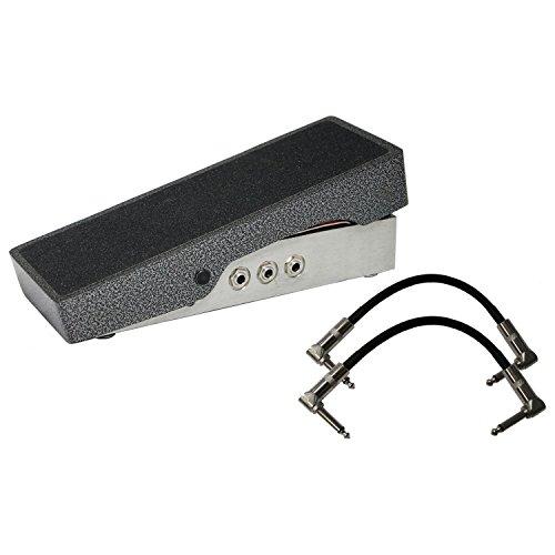 Goodrich Sound H-120 Standard Passive Volume Pedal w/ 2 Patch Cables