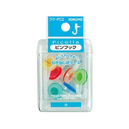 KOKUYO(コクヨ)『ピコラ ピンフック小6本 ミックス』