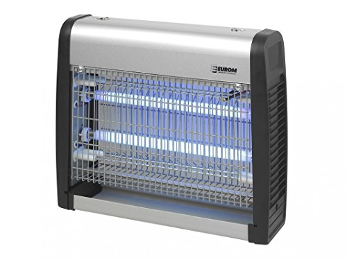 eurom Excellent insektenvernichter mückenvernichter elektrisch UV-Licht 16W (2x 8W), 100 m² Reichweite
