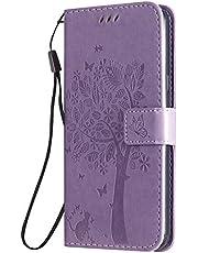Hoesje voor LG K50 / LG Q60 PU Lederen Flip Cover Notebook Portemonnee Telefoonhoesje met Magnetische Sluiting Stand Card Houder ID Slot Folio voor LG K50 / LG Q60 -