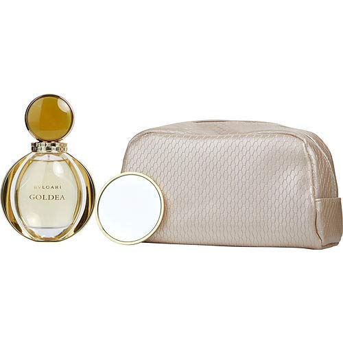 Bulgari Goldea 90 ml Eau De Parfum Spray / Toiletry Bag / Mirror